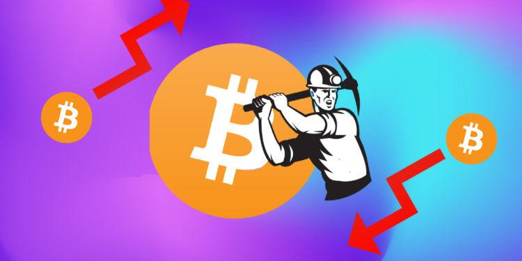 Bitcoin BTC miner mining